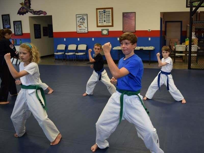 Kids Training in Martial Arts Classes in Corvallis